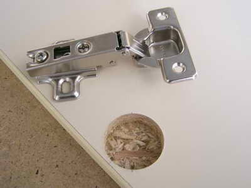 How to install furniture hinges - build daily.